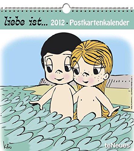 liebe ist... 2012. Postkartenkalender