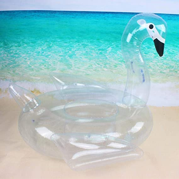 HAHAJY Juguete Hinchable acuático Ambiental P Cisne de ...