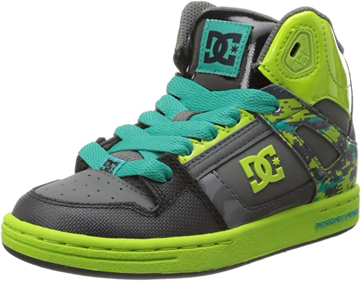DC Shoes Girls Shoes Kids 8-16 Rebound Se High-Top Shoes 303310B