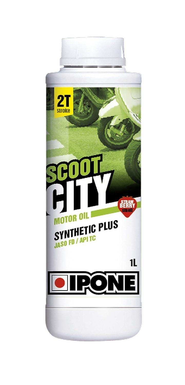 Ipone 800122 Huile Moteur Scoot City 2 Temps Synthé tique Plus Scoot, Fraise IPONE SA S28155
