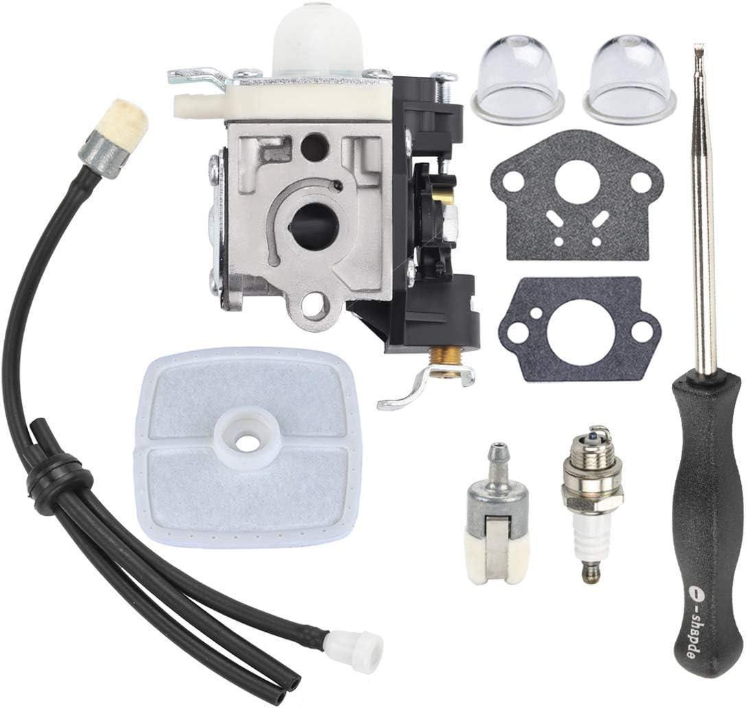 Hipa PB250 Carburetor for Echo PB250LN PB-250 ES250 Leaf Blower RB-K106 with Air Filter Carb Adjustment Tool Fuel Line