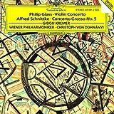 Glass: Concerto For Violin And Orchestra / Schnittke: Concerto Grosso No. 5 for Violin, an Invisible Piano & Orchestra