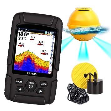 Traioy El Detector de Calamar con Sonido de Pesca admite sensores Inteligentes a Prueba de Agua