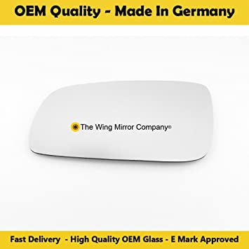 Ctrn-C3 Picasso 2009,2010,2011,2012,2013,2014 Silver Wing//Door Mirror Glass LH Passenger Side