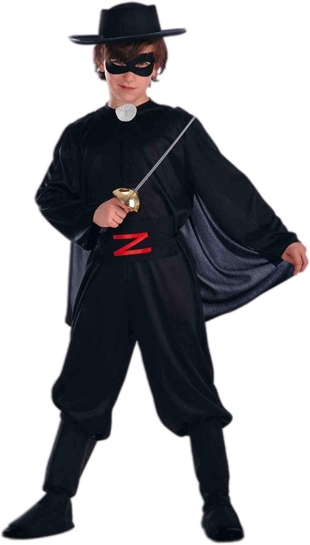 Carnival T. Disfraz Zorro Hombre Negro: Carnival T.: Amazon.es: Hogar