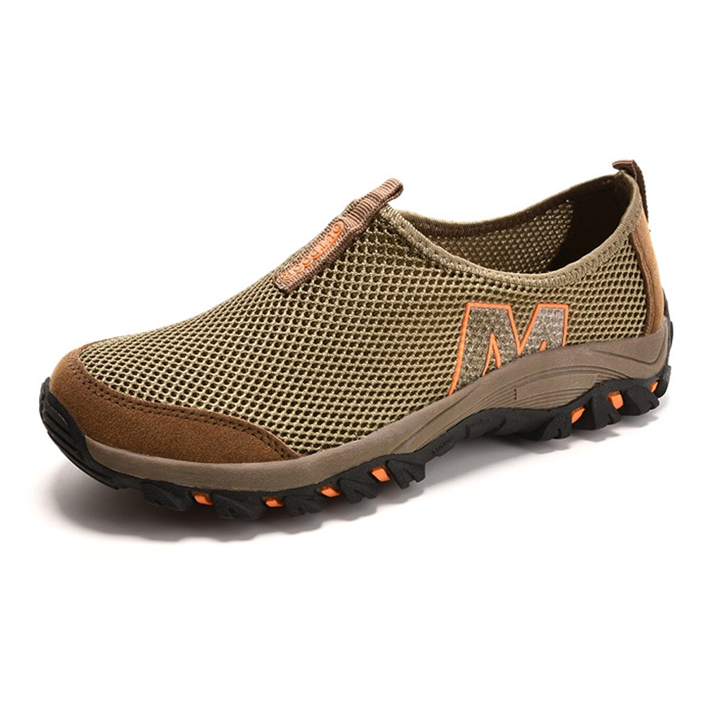 Men's Mesh Athletic Shoes – Perfect For Cycling, Mountain Climbing & Casual Walking F1081-40Br