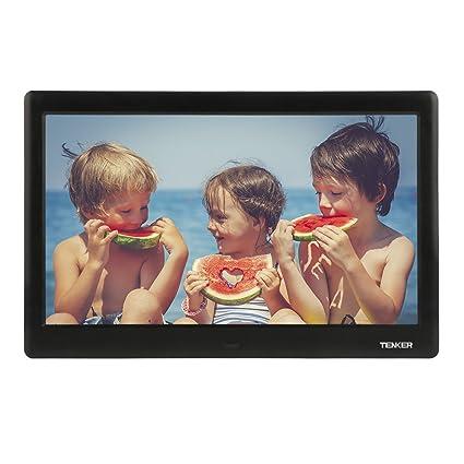 Amazon.com : TENKER 10-inch HD Digital Photo Frame with Auto-Rotate ...