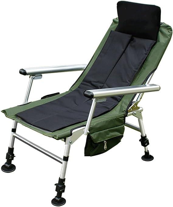ZL Fauteuil pliant Chaise de pêche Chaise de pêche Pliante