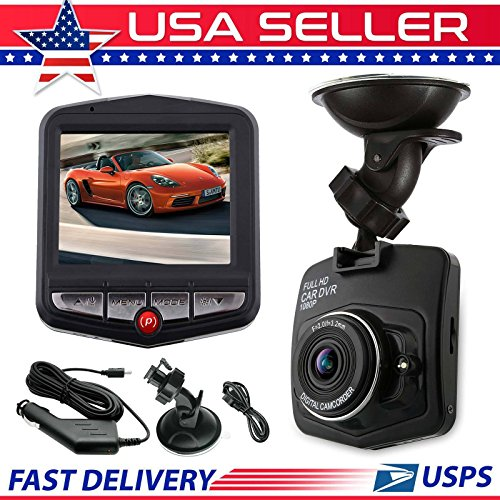 Car DVR Video Recorder Night Vision G Sensor Camera 1080P HD Vehicle Dash (16 Geovision Dvr Card)