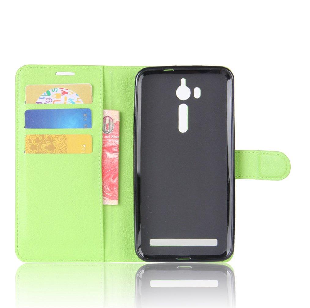 Amazon.com: ASUS ZenFone Go/ZB552KL Wallet Case, Premium PU ...