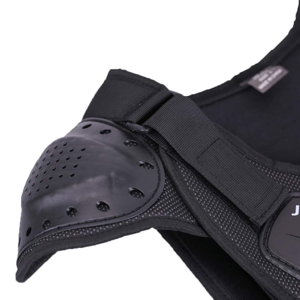CNDMW Kinder Motorrad Weste Brustpanzer,Sleeveless R/üstungWeste Schutz,Schutzausr/üstung,Hockey Knight Gear