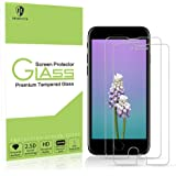 iPhone 8 Screen Protector-MORNTTE [2 Pack] Tempered Glass with 3D Touch Case Protective Screen Protector for Apple iPhone 7