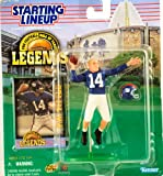 : 1998 - Kenner - Starting Lineup - Pro Football HOF Legends - Y.A. Tittle #14 - QB - New York Giants - Vintage Action Figure - w/ Trading Card - Limited Edition - Collectible