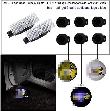 Juego de luces de cortesía para puerta de coche, 2 unidades ...