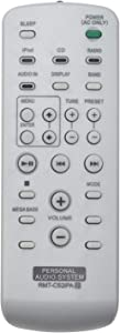 RMT-CS2iPA Replace Remote Control - AIDITIYMI RMT CS2iPA Remote Control Replacement for Sony RMTCS2iPA ZS-S4iP ZS-S2iP Audio System Remote Control