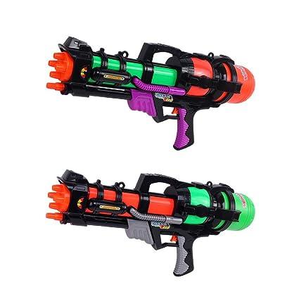 Yosoo 60cm pistola de agua con cañones mango grande de agua ...