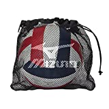 Mizuno Mesh Volleyball Bag, Black