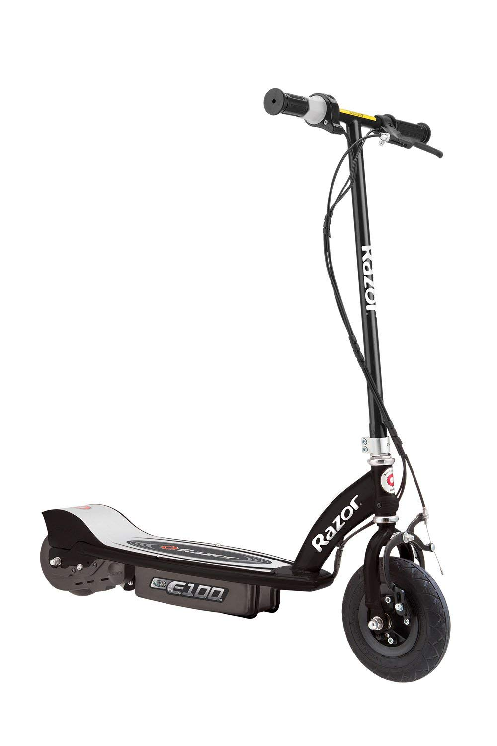 Amazon.com : Razor E100 Motorized 24-Volt Electric Rechargeable Ride-On  Outdoor Scooter Black : Sports & Outdoors
