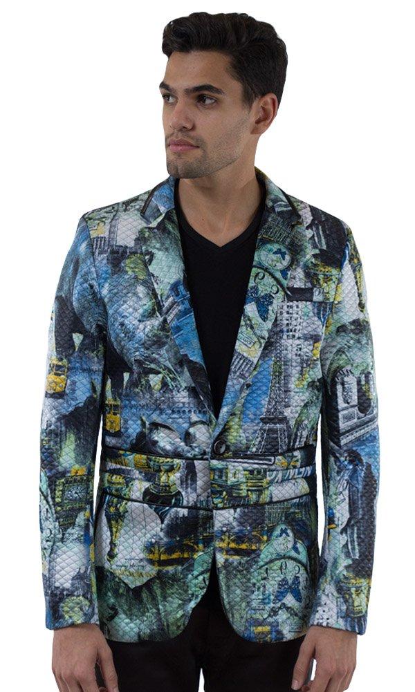 Barabas Men's ''Round Trip'' Blazer Jacket XX Large