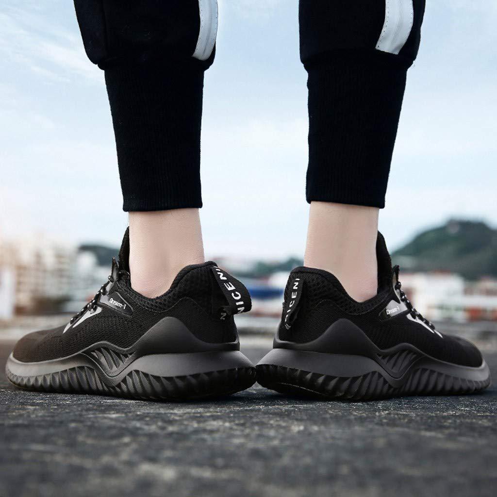 Respirant Et D/éContract/é pour Hommes Kinlene Homme Femme Chaussure De S/éCurit/é Chantiers Basket Chaussures De Travail Unisexes Semelle De Protection Ensemble De Chaussures De Sport pour Hommes