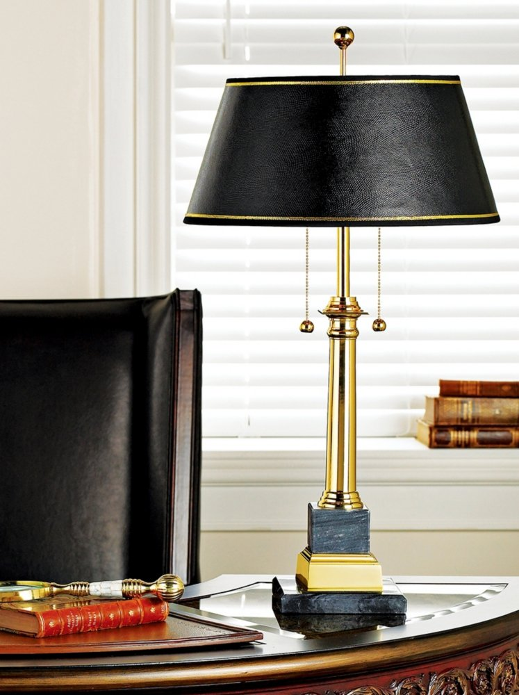 Georgetown Solid Brass Desk Lamp   Solid Brass Swing Arm Table Lamp    Amazon.com