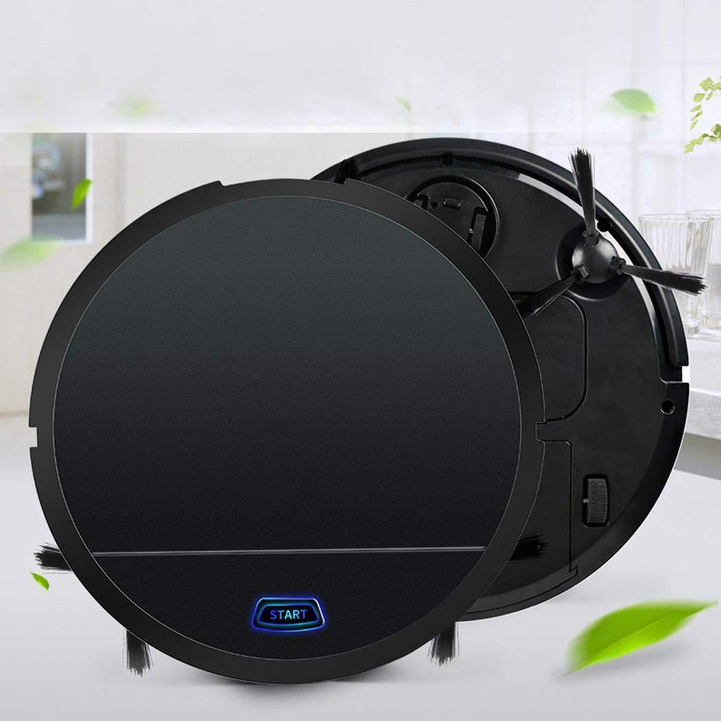 kigins Polvo de Barrido automático del hogar automático con Cepillo Aspirador Robot Inteligente Aspiradoras