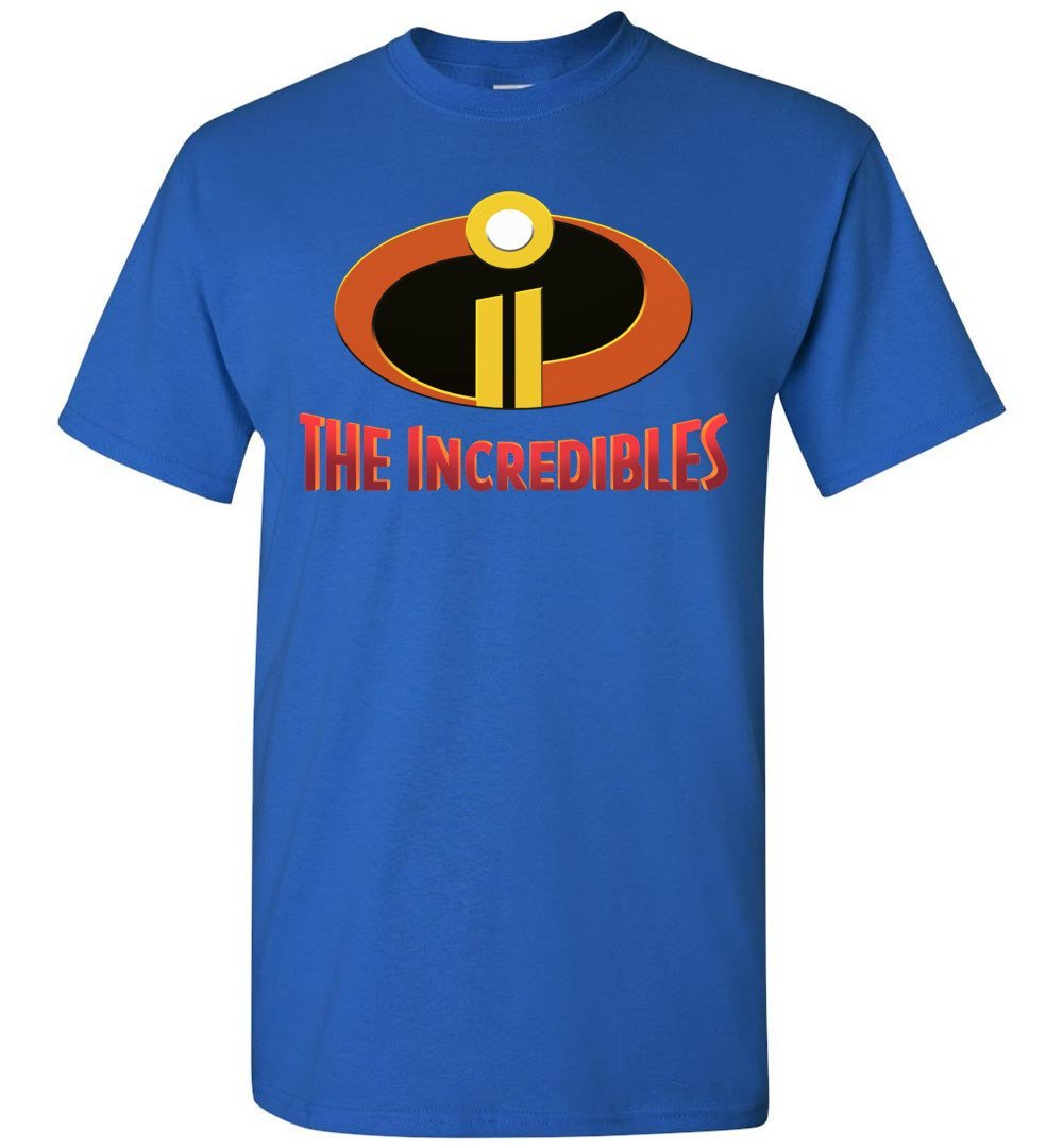 2018 Incredibles 2 Tshirt Adult And