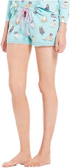 PJ Salvage Womens/'s Plus Size 1X Fun Printed Long Pants Elastic Waist