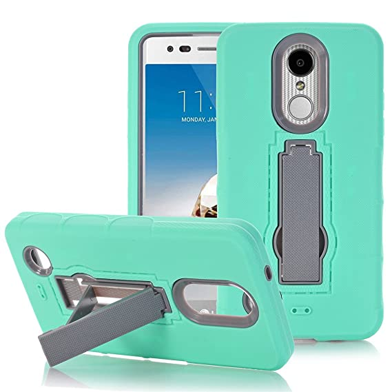 online store 15146 9c229 LG K8 2017 Case, LG K4 2017 Case, LG Aristo Case, LG Phoenix 3 Case, LG  Risio 2 Case, GreenElec Hybrid Heavy Duty Dual Layer Armor Defender  Protective ...
