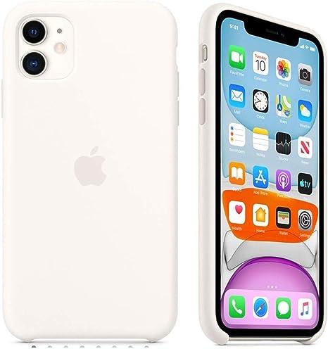 Apple Custodia in Silicone per iPhone 11 Bianco