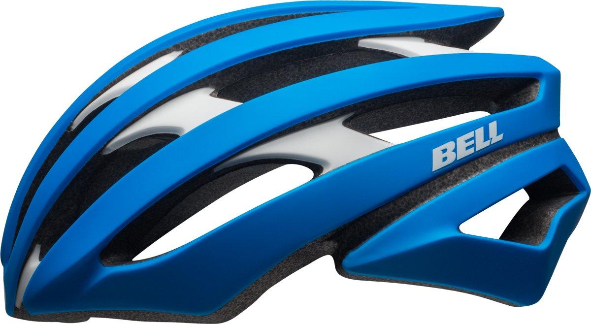 BELL Stratus Rennrad Fahrrad Helm blau weiß 2017  Größe  S (52-56cm)