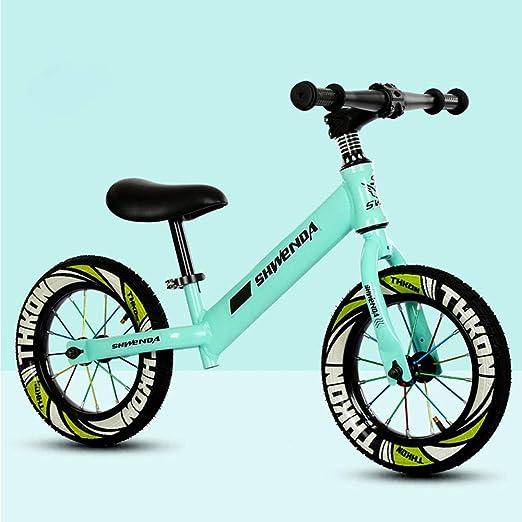 GAOJIN Bici sin Pedales Bicicleta 12 Pulgadas Ultraligera Balance ...