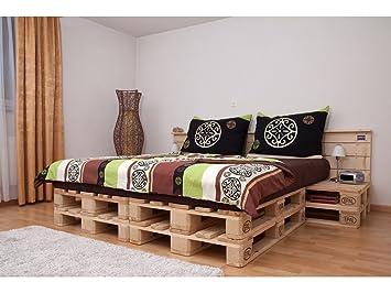 Schroth Home Paloma Palette Meubles Lit Double De Haute Qualité - Lit double palette