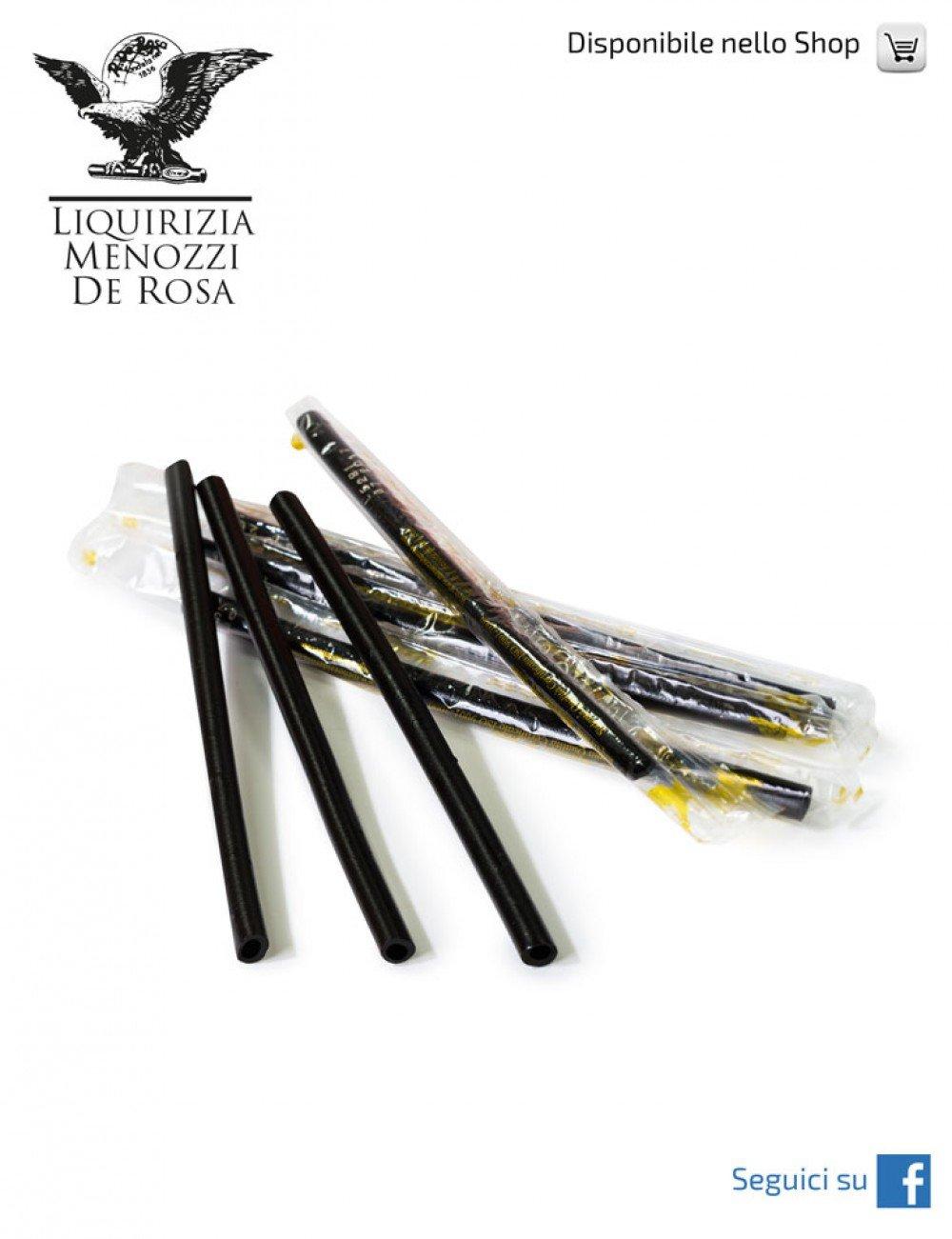Menozzi De Rosa, Pure Hard Licorice Juice Stick 8gr wrapped (100 pcs)