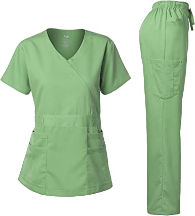 LOT OF 2  F.D UNIFORM SCRUBS,,SIZE MED