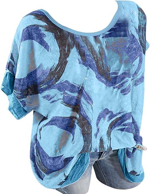 OTINICE Men Summer T Shirts Cotton Linen Short Sleeve Button Down Loose Casual Tops