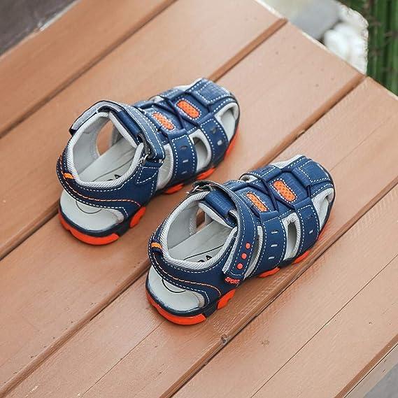 f37a119153bcc Chaussures bébés Chaussons Bébé,Xinantime Enfants Chaussons Cuir Souple  Chaussures Garçon Fille Fermé Toe Summer Beach Sandales Chaussures  Sneakers  ...