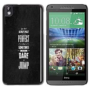 // PHONE CASE GIFT // Duro Estuche protector PC Cáscara Plástico Carcasa Funda Hard Protective Case for HTC DESIRE 816 / PERFECT TIME /
