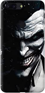 Stylizedd OnePlus 5T Slim Snap Basic Case Cover Matte Finish - Arkham Joker