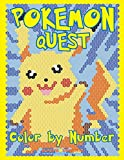 POKEMON QUEST Color by Number: Activity Puzzle