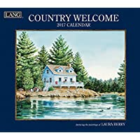 Lang 2017 Country Welcome Wall Calendar, 13.375 x 24 inches (17991001907)