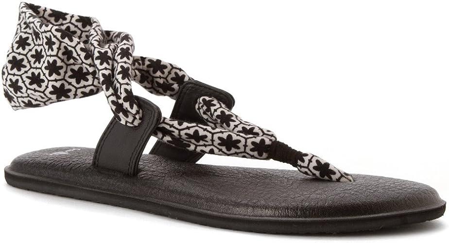 Sanuk Womens Yoga Slinglet Prints Sandals