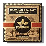 MANOA CHOCOLATE Hawaiian Sea Salt Chocolate