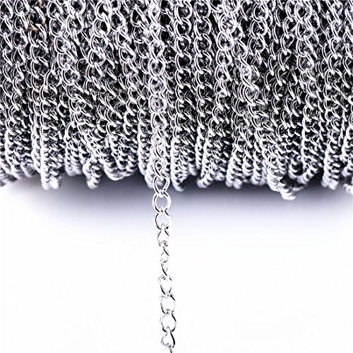 Stainless Necklace Jewelry Accessories 3 5x5mm product image