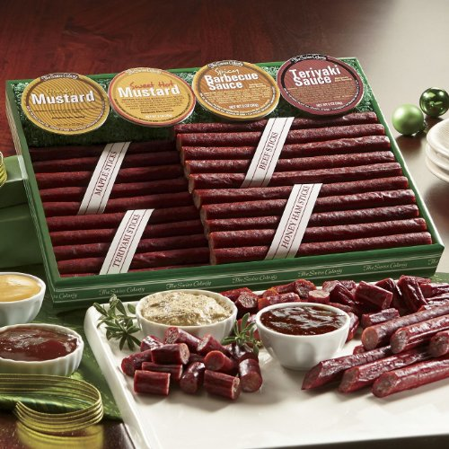Price comparison product image 12 Piece Meat Stick Bonanza from The Swiss Colony