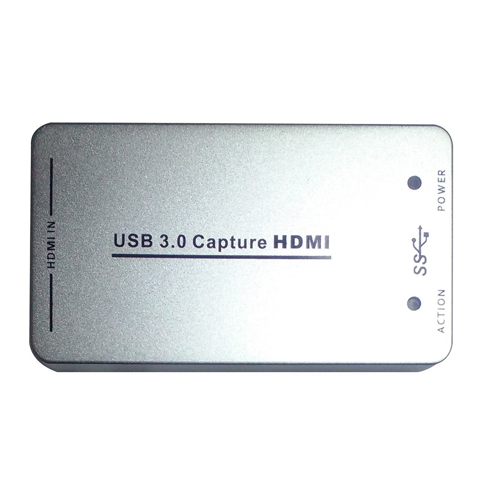 SODIAL(R) USB3.0 high-definition video capture card 1080P