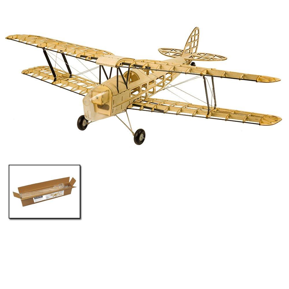 バルサウッド飛行機キットミニタイガーモス複葉機、39