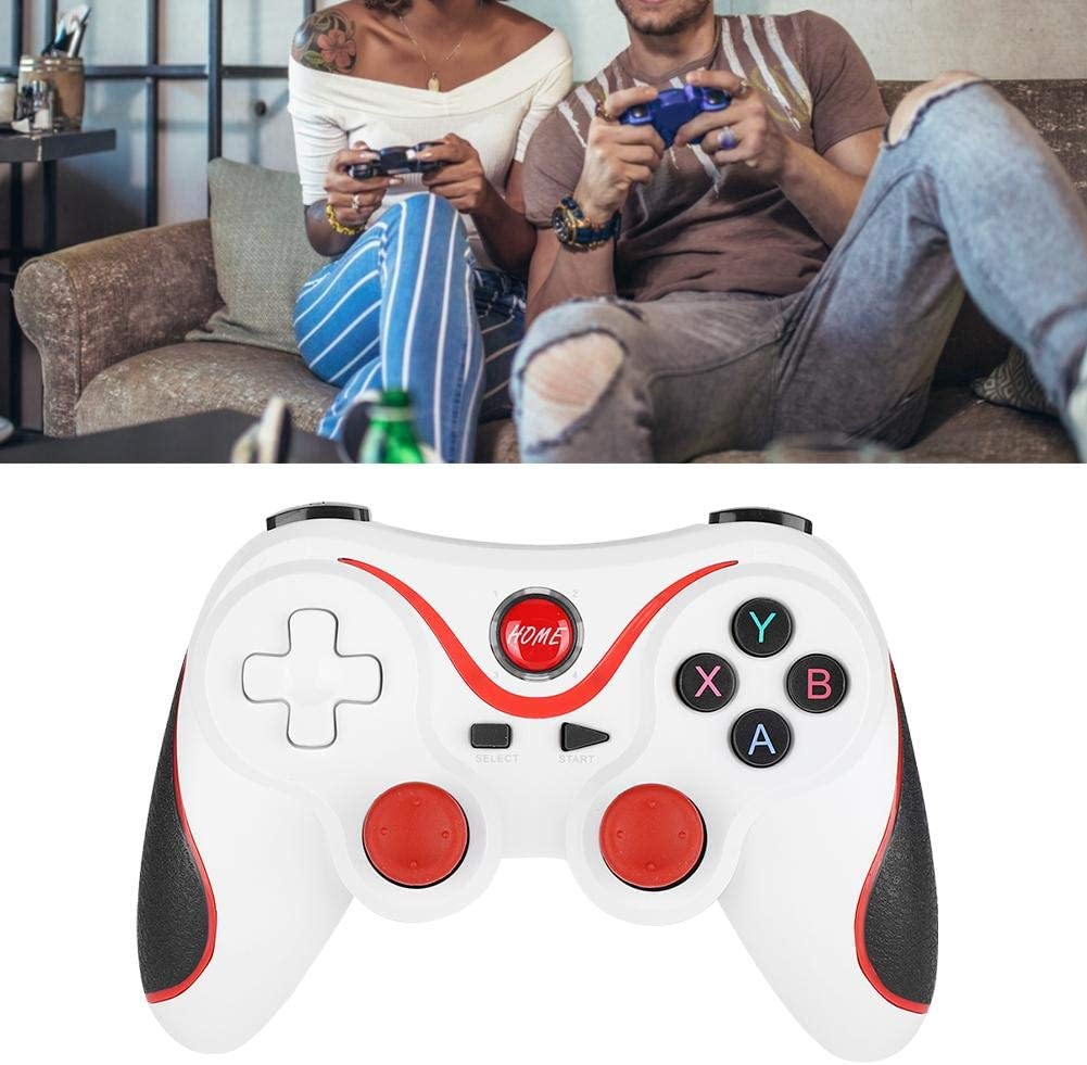 for Win 7//8//10 System,with Charging Cable Smartphones Wireless Bluetooth 4.0 Gamepad,Mobile Game Controller for PS3 Game Machine for iOS Tablet PC,for Andriod