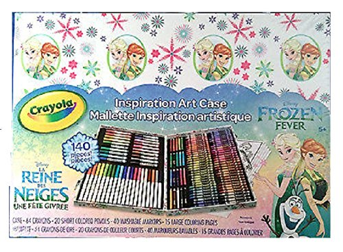 Crayola Inspiration Art Case; Art Tools; 140 Pieces;