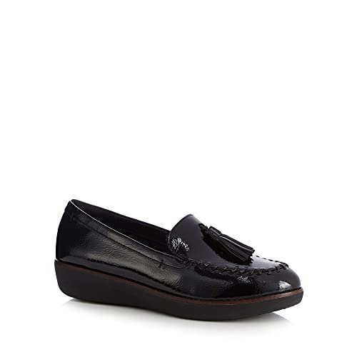 6436b40fb Fitflop Womens Black Patent  Paige  Loafers 5  Amazon.co.uk  Shoes ...